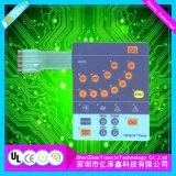 Transparentes Fenster-leitender Membranen-Tastaturblock