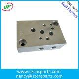 Desenho personalizado de precisão Peça de usinagem CNC com superfície polida