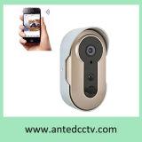 Macchina fotografica del campanello per porte di WiFi dell'anello di obbligazione HD con audio