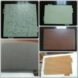 Holzmaserung Aluminium Einzelblatt