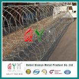 Mobile Security Razor Barrera / Cinta cortante alambrada de púas Concertina barrera