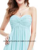 Robe de soirée élégante de style Mesdames Floor-Length sans manches robes de soirée officielle