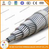 ACSR conductores desnudos de aluminio con certificado de IEC