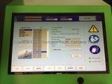 Banco de prueba común del inyector del carril con datos de la calibración