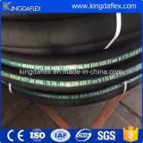 Qingdao-Hersteller wickelte abgedeckten Gummiluftverdichter-Schlauch ein
