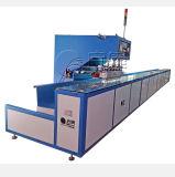 Automático de alta frecuencia en movimiento continuo de la máquina de soldadura de estructura de la película