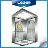 Ascenseur de passager gravure à l'eau-forte St/St de miroir/ascenseur (TKJ)