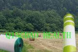 1.25 1200m weiße Nettoverpackung X für Bauernhof-Silage
