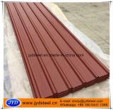Trapezium 유형을%s 가진 색깔 골함석 지붕 장