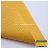Tela de las persianas de rodillo de la ventana de la protección solar/tela de cadena de las persianas de rodillo del plástico y del metal