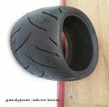 ISO9001, Hochleistungs-, haltbarer Motorrad-Gummireifen 3.00-17 3.00-18 110/90-16 120/90-16 3.50-10