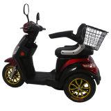 Scooter elétrico quente de 500W com três rodas para pessoas idosas