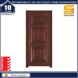 Portas de madeira interiores do painel exterior da madeira contínua únicas