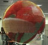 P7.62 indicador de diodo emissor de luz de 360 graus com cor cheia