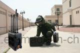Maleta de alta potencia de 3G 4G de señal celular Jammer para protección VIP