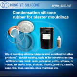 Caucho de silicón del moldeado de RTV para el molde del cemento, EL Molde De Cemento de Caucho De Silicona RTV De Moldeo PARA