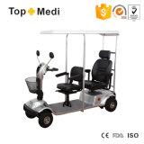 De openlucht Dubbele Autoped van de Mobiliteit van de Zetel met het Afbaarden met Ce ISO