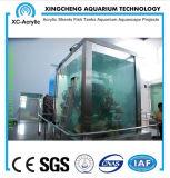 Prix acrylique personnalisé de projet d'aquarium de feuille incurvé par matériau acrylique