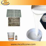 Gomma di silicone per la muffa di pietra che fa/gomma di silicone di pietra del pezzo fuso delle mattonelle