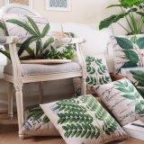Almofadas de tiro ao ar livre impressas 18 x 18 polegadas para decoração de cama