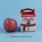 Nuevo rectángulo de regalo del papel del estilo de la Nochebuena para Apple