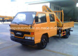 6 de Cabine Jmc van de Bemanning van wielen 2 van de Vouwbare Ton Kraan van het Wapen Opgezet op de Prijs van de Vrachtwagen