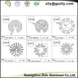 Material de construcción de aluminio del disipador de calor de la ingeniería del perfil de las piezas de automóvil