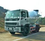 De vrachtwagen van de voorraad ISUZU, 8-10 m3 ISUZU concrete mixervrachtwagen