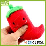 Produto do luxuoso da mastigação do animal de estimação dos brinquedos do animal de estimação da pimenta vermelha