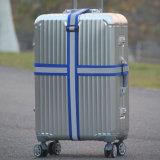 Подгонянный перемещением пояс багажа планки чемодана полиэфира отражательный с замком