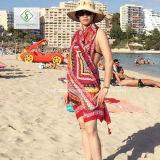 Fashion Lady Scarf style népalais avec châle de plage Tassels