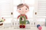 La peluche fabriquée à la main de jouet badine le bébé - poupée