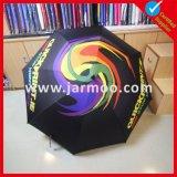 Складной подгонянный двойной зонтик гольфа сени