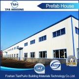 Structure en acier préfabriqués pour l'usine de construction de l'atelier de construction