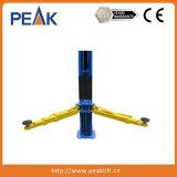 2 Ontwerp van het Hijstoestel van de Auto van kolommen het Hydraulische voor de Lage Garages van het Plafond (209X)