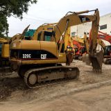 Escavatore idraulico di Cralwer utilizzato 320c del gatto