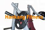 La forma fisica, strumentazione di Lifefitness, piatto ha caricato la macchina, pressa lineare del piedino; Df-6012