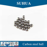 bola de acero de carbón de 9m m para la bola de metal sólida del rodamiento