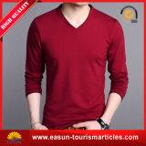 T-shirt rouge fait sur commande bon marché de club de coton pour les hommes