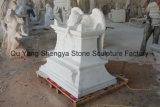 Monumento de piedra de mármol Memorial estatua de mármol Mem-017