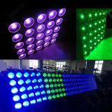 Marcação RoHS novo 25chefes Matriz Efeito Blinder LED Light