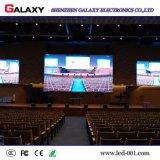 El panel de visualización a todo color de interior video fijo de LED de HD