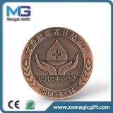 Pièce de monnaie populaire de jeu de cadeaux en métal de ventes chaudes