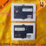 USB подарка названной карточки изготовленный на заказ логоса вращаясь (YT-3107)
