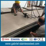 Hoja de acero inoxidable laminada en caliente del certificado de prueba del molino