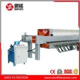 Prezzo di fornitore idraulico automatico della pressa del filtro a piastra della membrana del fango