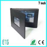 Impresión de la tarjeta de felicitación del LCD de la fuente