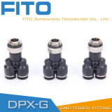 De g-Draad van de Reeks van Px Pneumatische Montage met O-ring/Duw in Pneumatische Montage