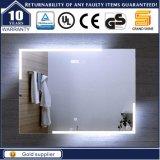 Самомоднейшее декоративное зеркало ванной комнаты тщеты освещенное контржурным светом СИД для гостиницы