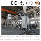 Máquina de granulación que se lava del plástico inútil para la botella del animal doméstico
